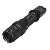 Astrolux® WP1 1KM interrupteur rotatif longue portée 480LM LEP projecteur IPX8 étanche lampe de poche tactique de recherche avec 5000mAh 21700 Batterie