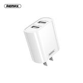 Remax RP-U35 Dual-USB-Ladeadapter Schnellladen für iPhone XS 12 11Pro Mi10 S20 +