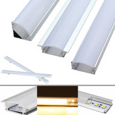 30CM Aluminium Channel houder voor LED Stijve Strip Light Bar Under kabinet Lamp
