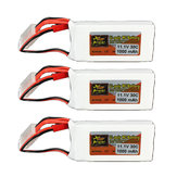 3PCS ZOP Power 11.1V 1000mAh 3S 30C Lipo Battery With JST Plug For RC Model