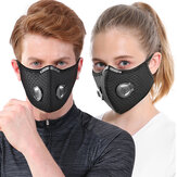 1Pc Bicycle Cycling Mask 5-layer Filter Anti-fog PM2.5 Anti Dust Pollution Face Mask