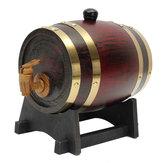 Barril de madeira do tambor de vinho do carvalho 1.5L com o Spigot para o álcool da cerveja do vinho