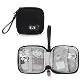 BUBM मिनी पोर्टेबल स्टोरेज पाउच एंटी-स्क्रैच ईरफ़ोन एक्सेसरी संग्रह प्रबंधन स्टोरेज बैग