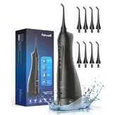 Fairywill FW-5020E Water Flossers 300ML Oral Irrigator Rechargeable Portable 3 Cleaning Mode Dental Water Tank Waterproof Teeth Cleaner