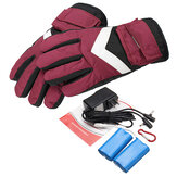 7.4V 2800mah Impermeable Batería Thermal Heated Guantes para Moto Racing Winter Warmer