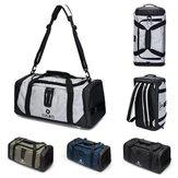 20 cali Mężczyźni Outdoor Gym Bag Travel Sports Torebka Plecak Buty Storage Duffel Plecak
