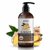 Sevich Ginger Anti-hair Loss Plant Anti-démangeaisons et antipelliculaire Shampooing Densifiant