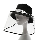 PVC Çıkarılabilir Koruyucu Şapka Buğu Önleyici Sıçrama Korumalı Yüz Shei