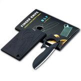 IPReeOutdoorEDCÇokFonksiyonluMini Kart Cep Bıçak Kesici Survival Güvenlik Aletler Kit