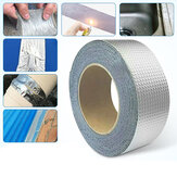 5M Aluminum Foil Butyl Rubber Tapes Heat Resistant Super Strong Waterproof Household Repair Tape