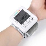 Boxym Handgelenk Blutdruckmessgerät Automatisch LCD Blutdruckmessung Elektronisches Blutdruckmessgerät Tonometer Gesundheit Haushaltsherzfrequenzgerät