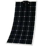 12V 150W Sami-flexibel zonnepaneel monokristallijn silicium voor buitenstroomopwekkingssysteem parkeergarage elektrische auto