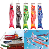 100 см Koi Nobori Carp Wind Socks Koinobori Fish Kite Flag висит декор