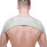 Herren Damen Charcoal Fixed Shoulder Protection