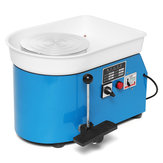 Electric Pottery Wheel 25cm Pottery Forming Machine 250W Pottery Wheel DIY Clay Tool Ceramic Machine