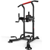4 in 1 Heavy Duty Power Tower Chin Up Station Body Pull Up Bar Dip Knee Raise Power Fitnessapparatuur