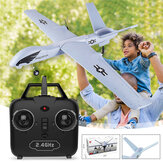 Z51 Predator 660mm Envergadura 2.4G 2CH EPP DIY Glider Garden Flying RC Airplane Toy RTF Gyro incorporado