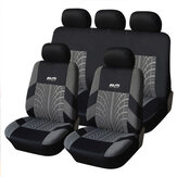 Universal 5-Seats Car Seat Cover Protectors Front&Rear SUV Cushion Full