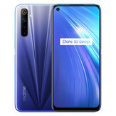 Realme 6 Global Version 6,5 cala FHD + 90 Hz Częstotliwość odświeżania NFC Android 10 4300mA 64MP AI Quad Camera 4GB 64GB Helio G90T 4G Smartphone