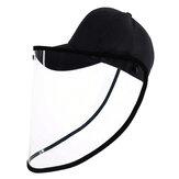 PULUZ PU463 Cappello protettivo Visiera protettiva Maschera Antivento antipolvere antipolvere staccabile