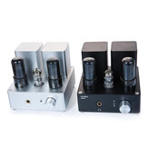 APPJ PA1502A 6N4 6P6P Vacuum Tube Headphone Amplifier with 6.35mm Jack