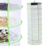 Herb Растение Батон Сушильная сетка 8 Посудомоечная машина для сушки на потолке Подвесная стойка Быстрая сушка Сетка для хранения
