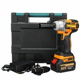 68V 9000mAh 520Nm Cordless Brushless Motor Electric Impact Wrench W1/2 Li-ion Battery