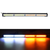 4 LED 12/24V 36W Car Truck Strobe Warning Flashing Grill Light COB Lamp Beads