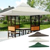 120x120inchHavePavilionTerrasseTopCanopy Cover Garden Shade Gazebo Patio Tent Sunshade Tilbehør Udskiftning