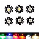 De alta potencia LED bombilla de PCB granos de las virutas coche de la lámpara de lectura de interior del acuario del disipador de calor