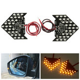 2 x 27 3528 SMD LED Sequential Flash Side Lusterko wsteczne Turn Signal Light