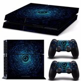 Digital Aura Vinly Skin Stickers Pour PS4 Play Station 4 Consel Controllers Decals