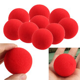 1szt Zamknij Magic Trick Soft Sponge Ball Magic Props Clown Nose