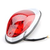 235x96x70mm LED Rear Tail SidE-mount Plate Light Red