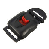 Clip Chin Strap Quick Release Buckle For Motorcycle Helmet Black Red