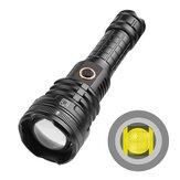 XANES® 1490B XHP90 2000LM USB перезаряжаемый телескопический зум 5 режимов Водонепроницаемы 26650 18650 LED Фонарик ночник