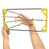 Adjustable Finger Hand Power Up Trainer Hand Grip Exerciser for Guitar Music Sport Player