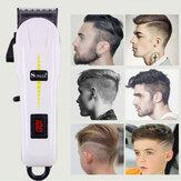 Surker professionnel sans fil tondeuse à cheveux barbier cheveux coupe machine LED LCD affichage électrique tondeuse à cheveux pour hommes adulte enfant