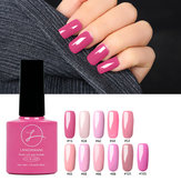 11 kolorów Princess Pink Nail Gel Polish Soak-off UV Gel