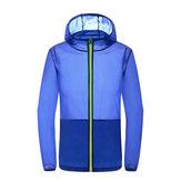 MouvementextérieurVesteCoupe-ventSéchageVitesse Protection contre le soleil Camping Vêtements de randonnée