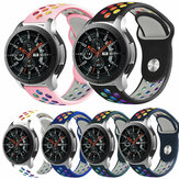 Bakeey 22mm Universal Replacement Rainbow Silicone Watch Banda Strap para Haylou Solar LS05 Watch / Huawei Watch GT