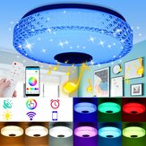 220V RGB LED Music Ceiling Lamp Dimmable bluetooth APP+Remote Control Kitchen Bedroom