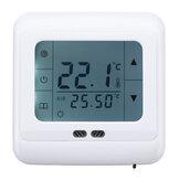 5 - 35 ° C Thermostat de chauffage au sol LCD Contrôleur de température programmable intelligent CA 220V