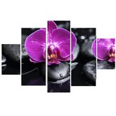 5Pcs DIY Modern Abstract Flowers Canvas Print Painting Picture Wall Art Home Decoration Wallpaper