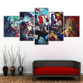 5 Unids Moderno Abstracto Colorful Impresión de la Lona Pinturas Home Wall Art Decor Sin Marco