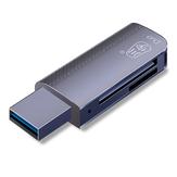 Kawau C370 USB 3.0 TF leitor de cartão SD de alta velocidade SD TF suporte para adaptador de cartão de memória 520G para gravador de unidade e alto-falante câmera SLR