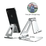 LINGCHEN Adjustable Foldable Aluminium Alloy Desk Phone Tablet Holder for iPad Phone Tablet For Samsung Xiaomi Huawei Non-original