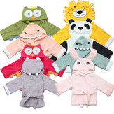 Baby Nighty Pajamas Kids Toddler Animal Cartoon Badjas Handdoek