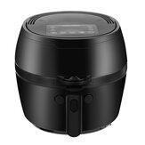Penggorengan Udara Listrik Pengatur Suhu Digital Bebas Minyak Otomatis 220V 1500W untuk Dapur