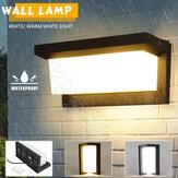 Su geçirmez COB LED Duvar Işık Kapalı Outdoor Merdiven Otel Bahçe Lamba Sıcak Beyaz
